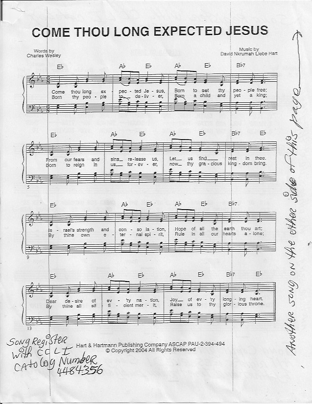 Index Of Sheetmusichymns