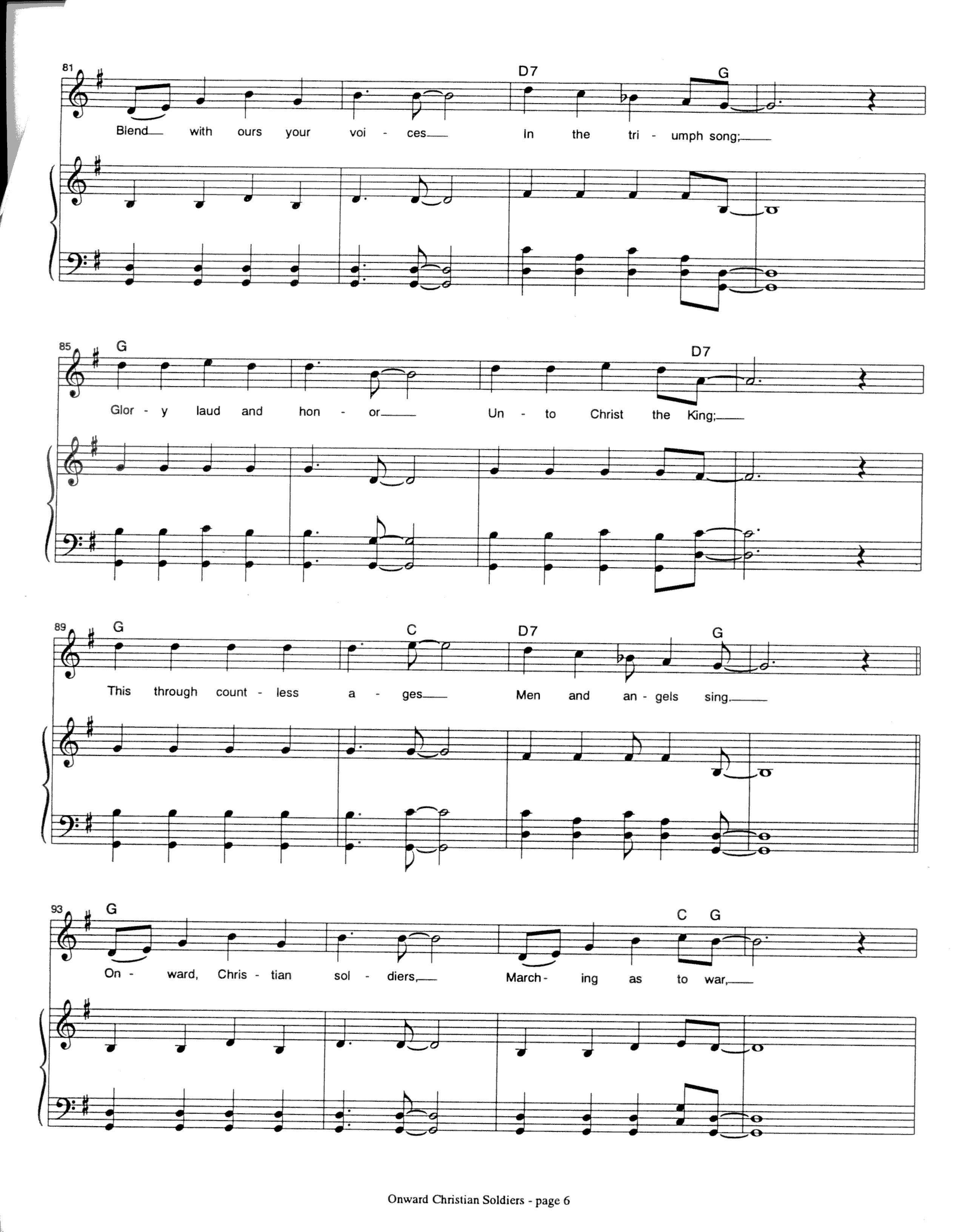 Index of sheetmusic hymns